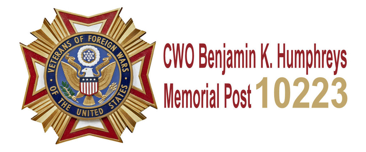 CWO Benjamin K. Humphreys Memorial Post 10223